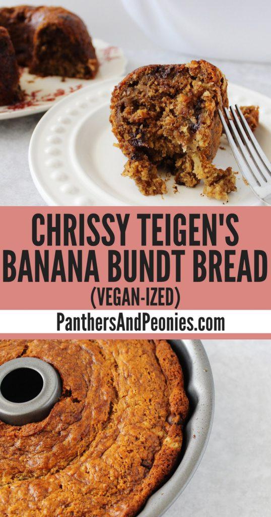 Chrissy Teigen Banana Bread  Chrissy Teigen s Banana Bundt Bread Vegan ized