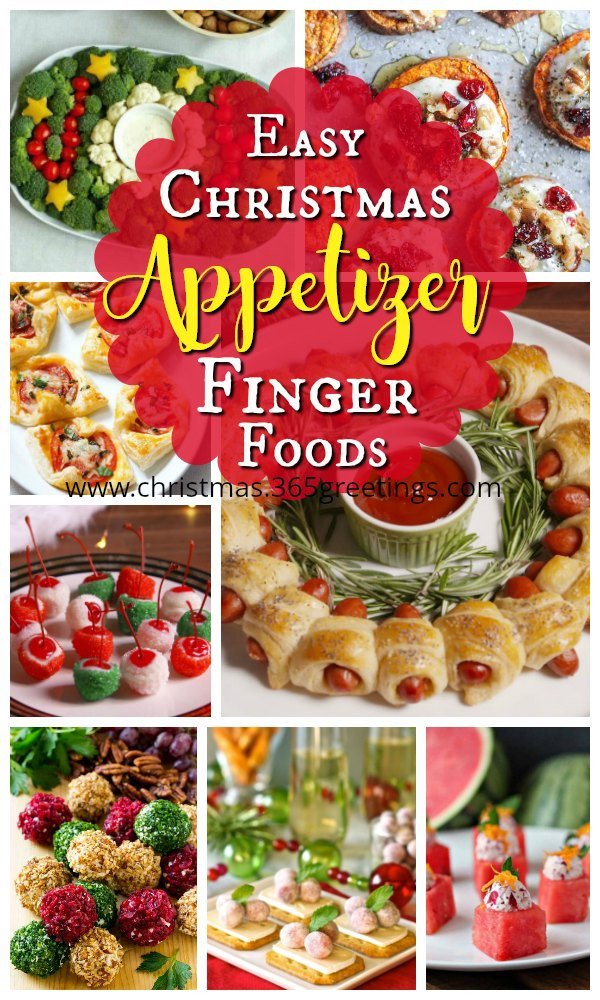 Christmas Appetizers 2018  Easy Christmas Appetizer Finger Foods Christmas