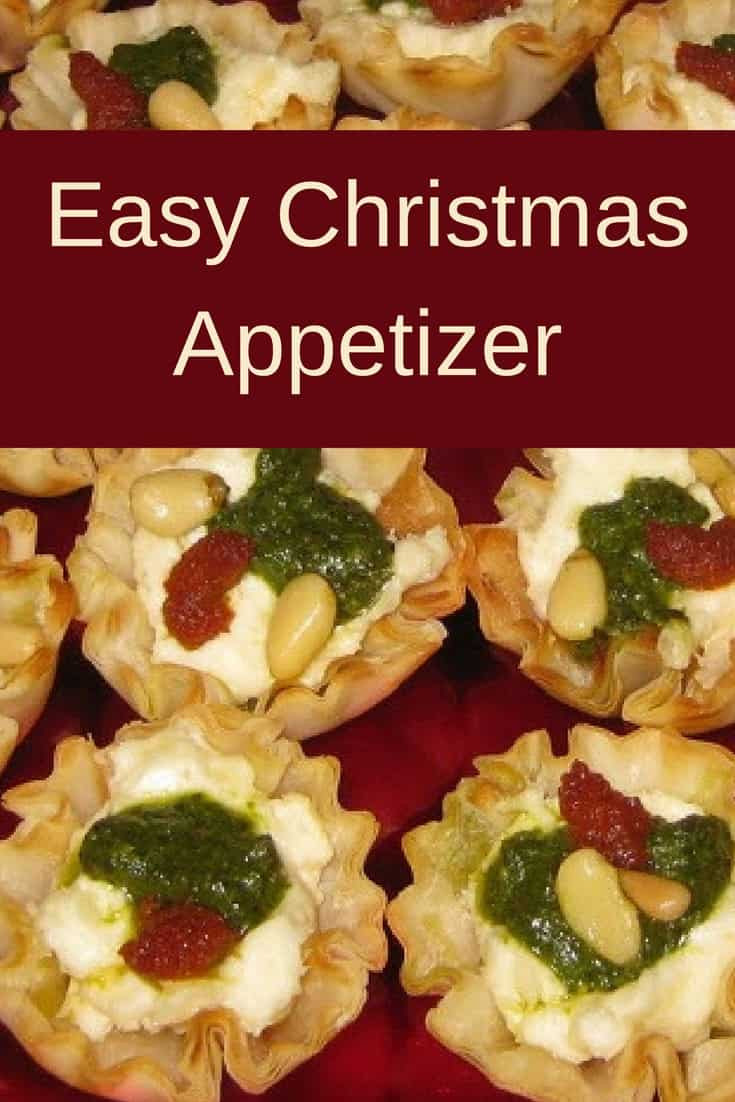 Christmas Appetizers 2018  Easy Christmas Appetizer Savory Tartlets Recipes & Me