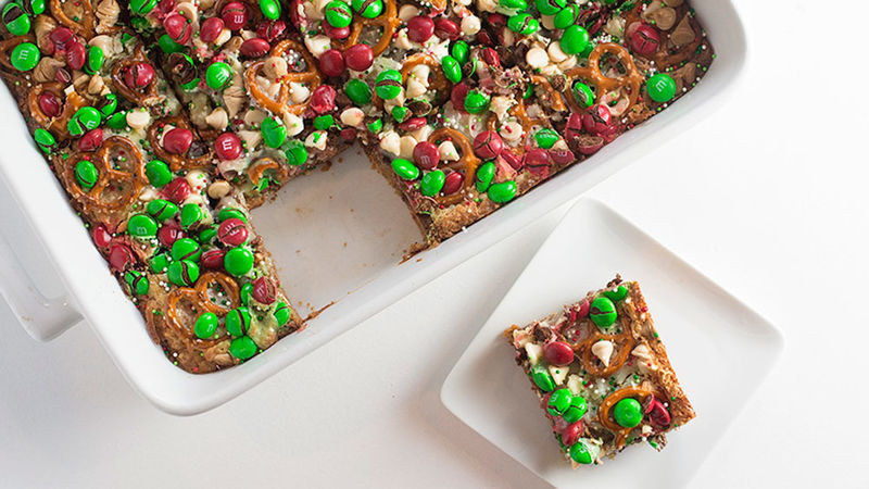 Christmas Bar Cookies  Christmas 7 Layer Cookie Bars Recipe Tablespoon