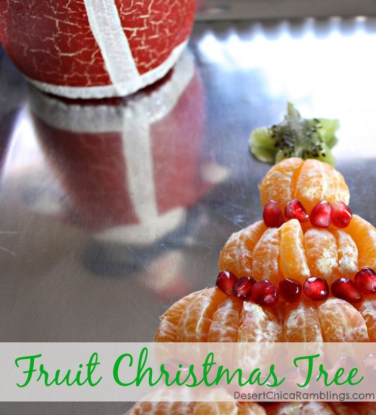 Christmas Brunch Appetizers  Best 25 Fruit christmas tree ideas on Pinterest