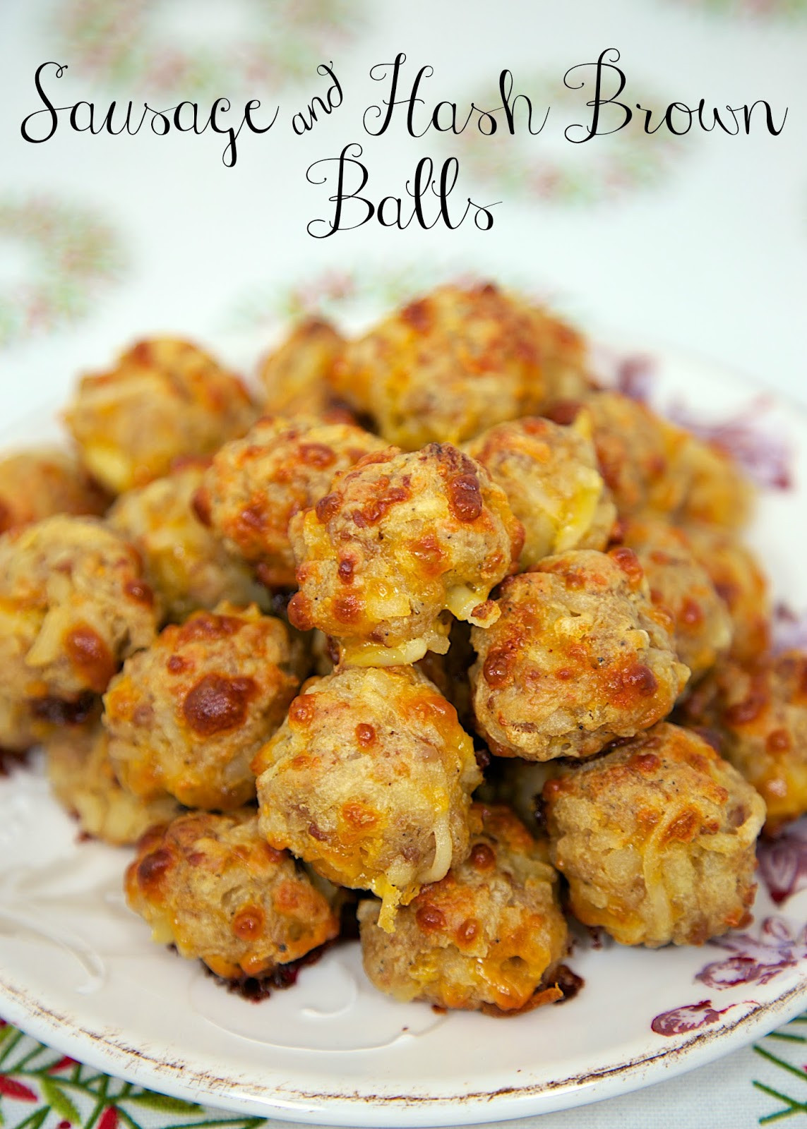 Christmas Brunch Appetizers  Sausage & Hash Brown Balls Football Friday