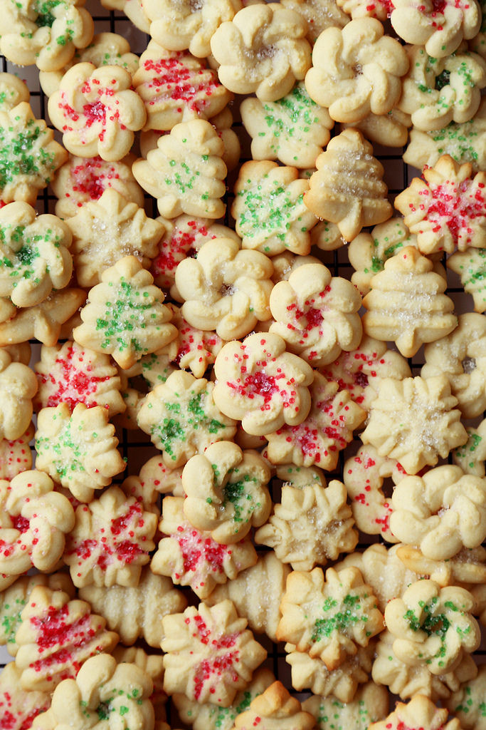 Christmas Butter Cookies  Holiday Danish Butter Cookies The Candid Appetite
