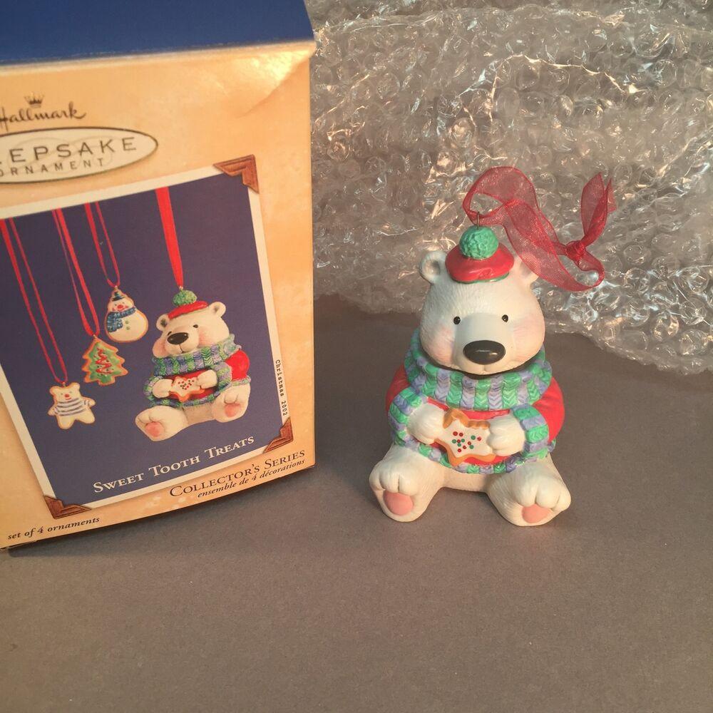 Christmas Cookies Hallmark  Hallmark Christmas 2002 Sweet Tooth Treats Polar Bear