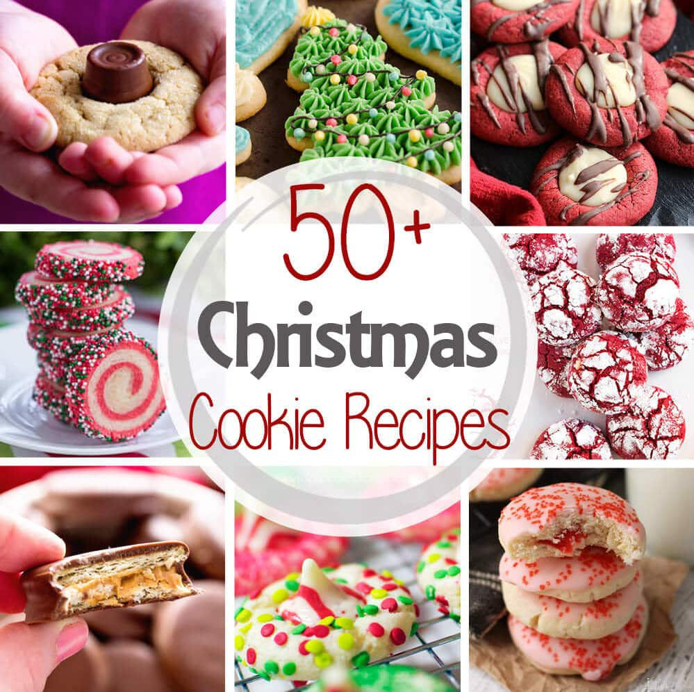 Christmas Cookies Recipes With Pictures  The Best Christmas Cookie Recipes 50 Recipes  Julie