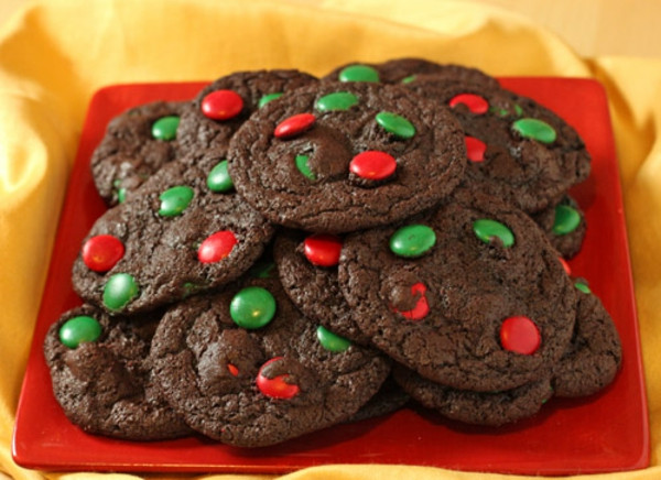 Christmas Cookies Recipes With Pictures  Christmas Cookie Recipes Chocolate Mint Cookies and