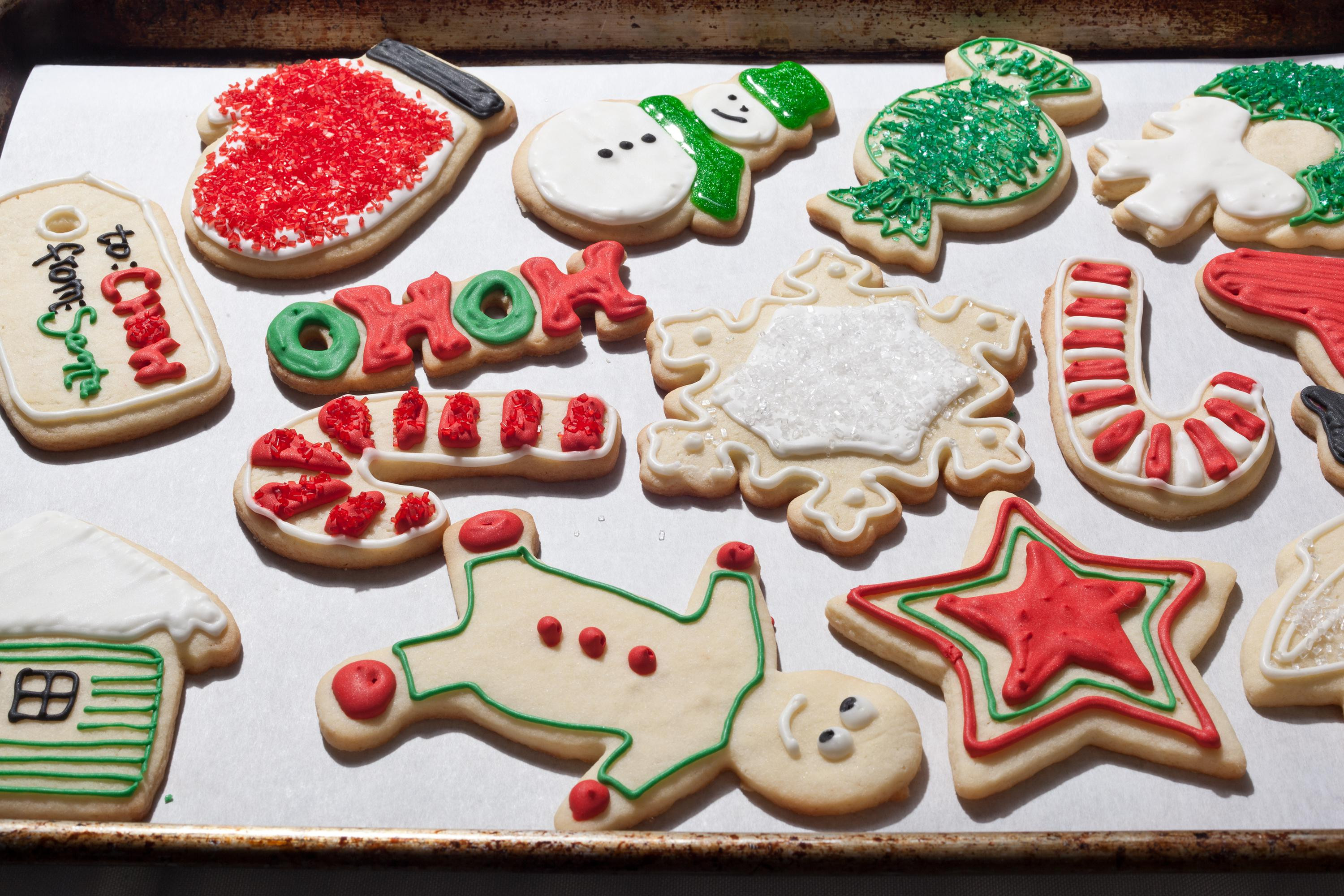 Christmas Cookies Recipes With Pictures  Christmas Sugar Cookies Recipe Chowhound