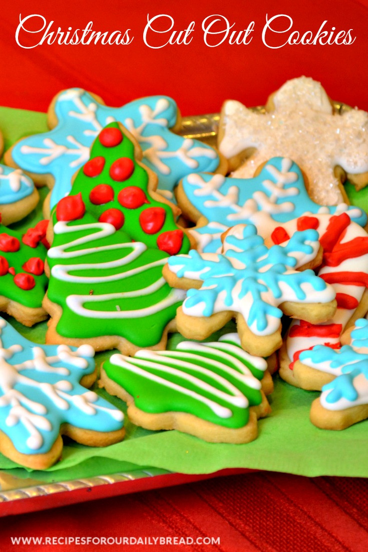 Christmas Cut Out Cookies  Butter Cookies Cut Out for Christmas recipesforourdaily