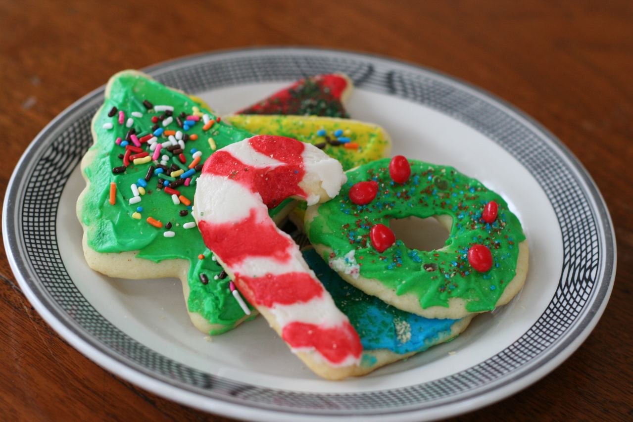 Christmas Cut Out Cookies  Cut Out Christmas Cookies