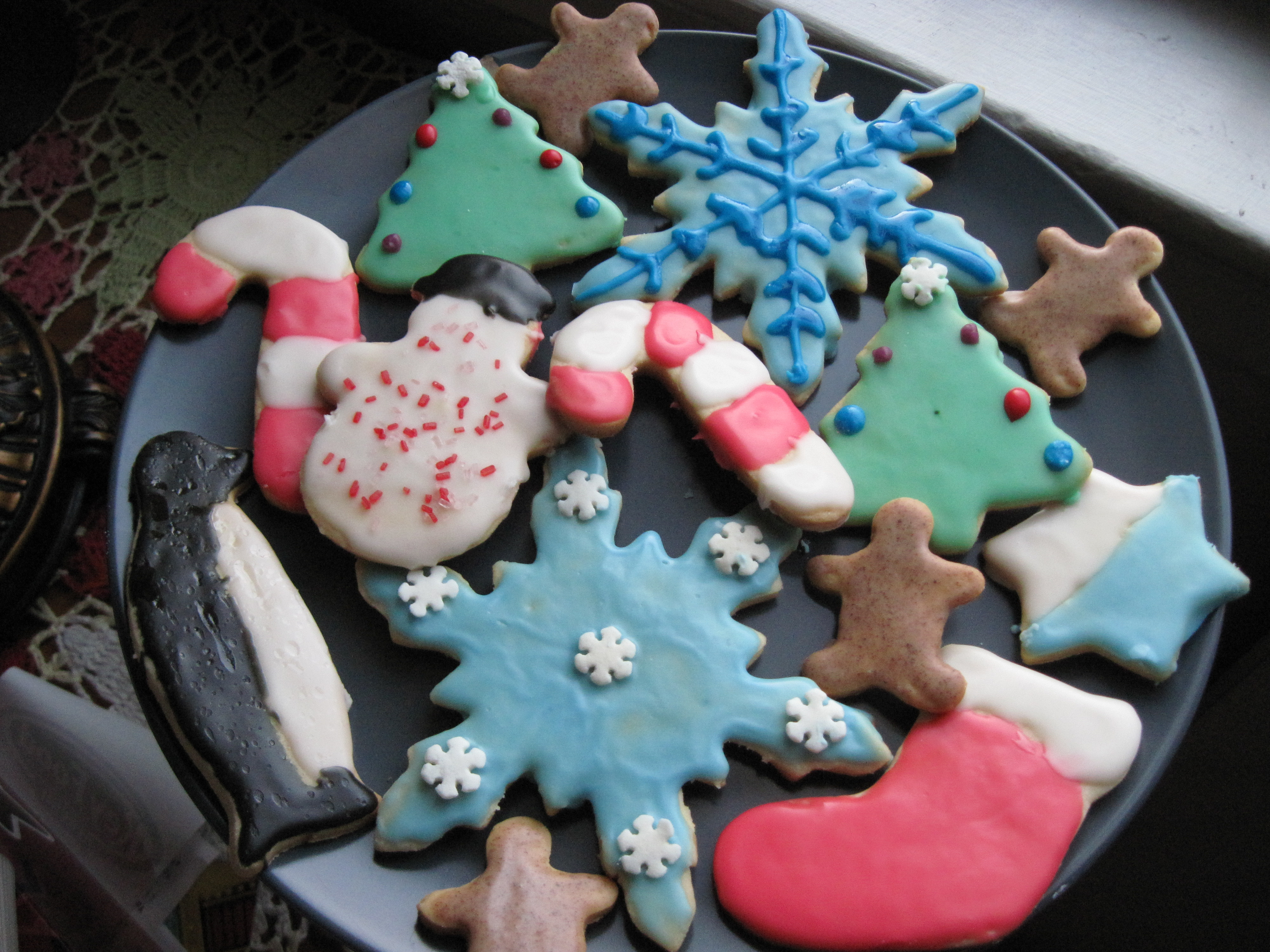 Christmas Cut Out Cookies  File Christmas sugar cookies January 2010 Wikimedia