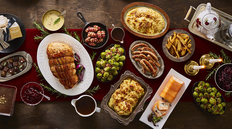 Christmas Dinner Ideas 2017  Booths Ultimate Christmas Dinner 2017 Booths Reserve and