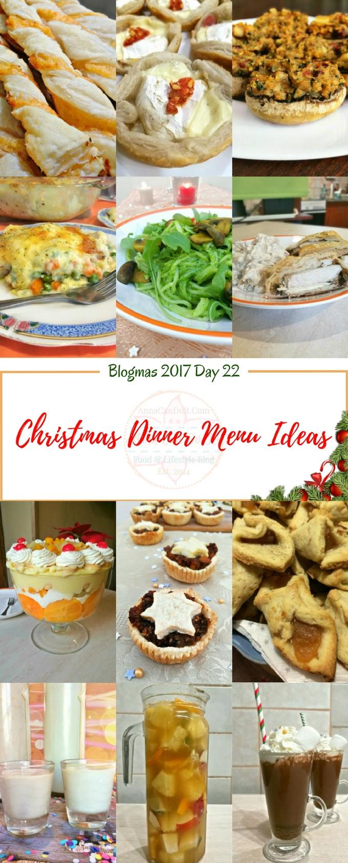 Christmas Dinner Ideas 2017  Christmas Dinner Menu Ideas Blogmas 2017 Day 22