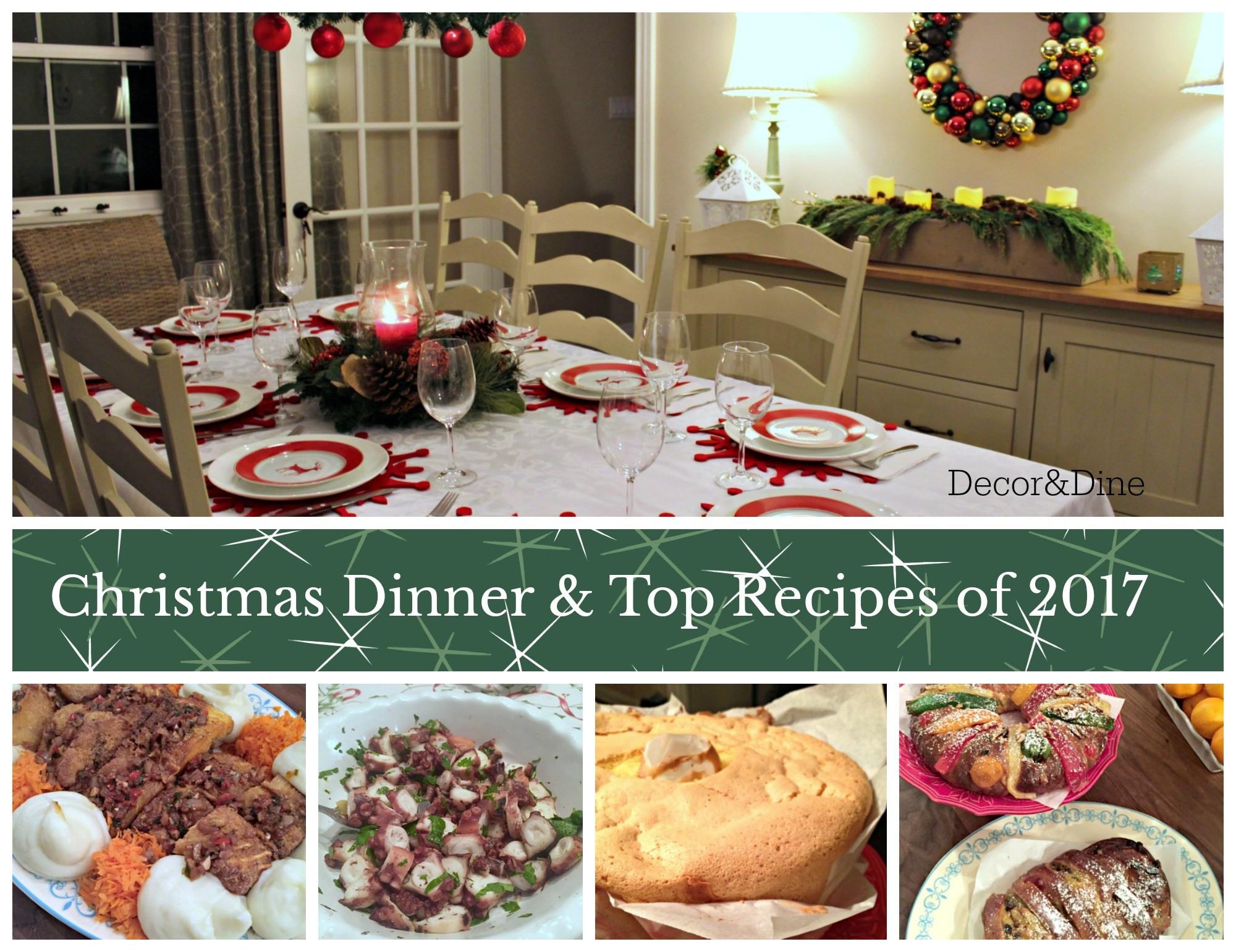 Christmas Dinner Ideas 2017  Christmas Dinner & the Top 3 Recipes of 2017