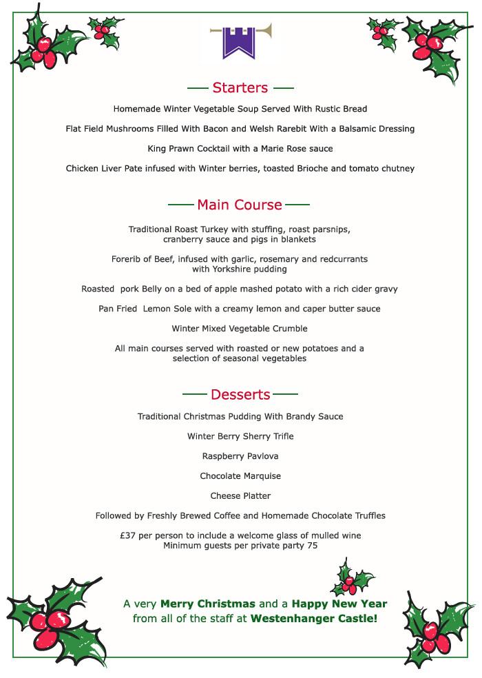 Christmas Dinner Menu Ideas  Christmas Dinner Menu Ideas – Happy Holidays