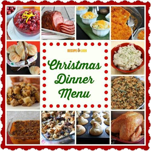 Christmas Dinner Menu Ideas  56 Christmas Dinner Menu Ideas