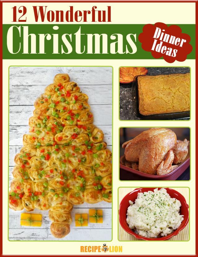 Christmas Dinner Menu Ideas  12 Wonderful Christmas Dinner Menu Ideas Free eCookbook