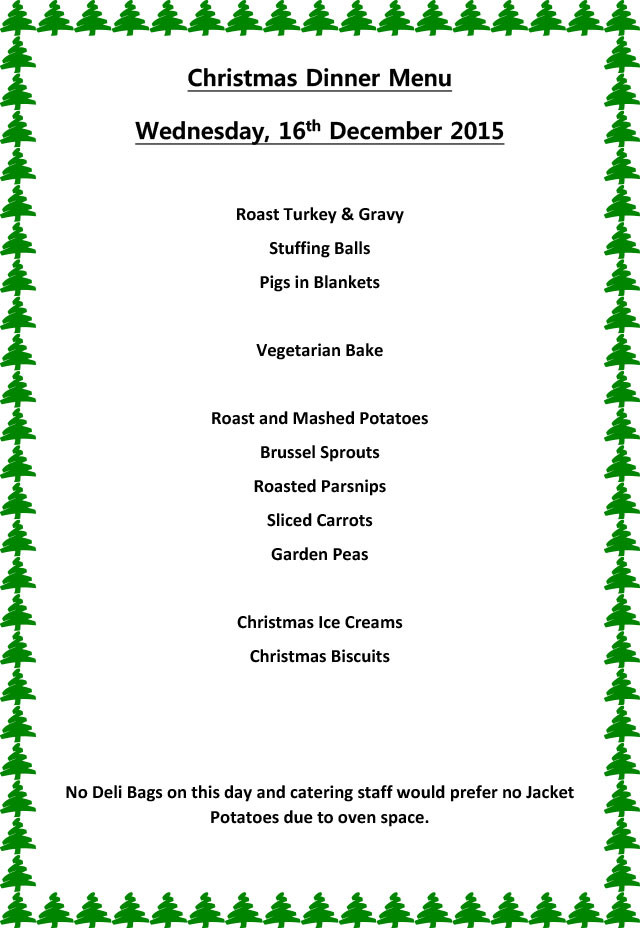Christmas Dinner Menu Ideas  Christmas Dinner