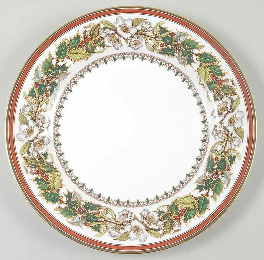 Christmas Dinner Plates  Spode CHRISTMAS ROSE Dinner Plate