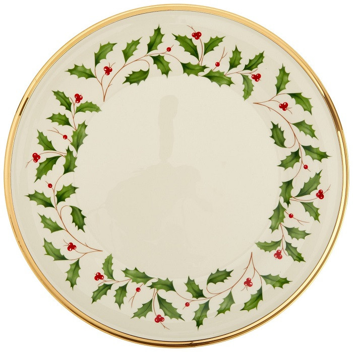 Christmas Dinner Plates  Lenox Holiday Dinner Plates Absolute Christmas