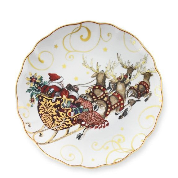 Christmas Dinner Plates  Holiday Plates and Dinnerware — Eatwell101