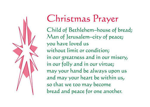 Christmas Dinner Prayer  The Learner Praise and Prayer Bulletin 15 Dec 2012