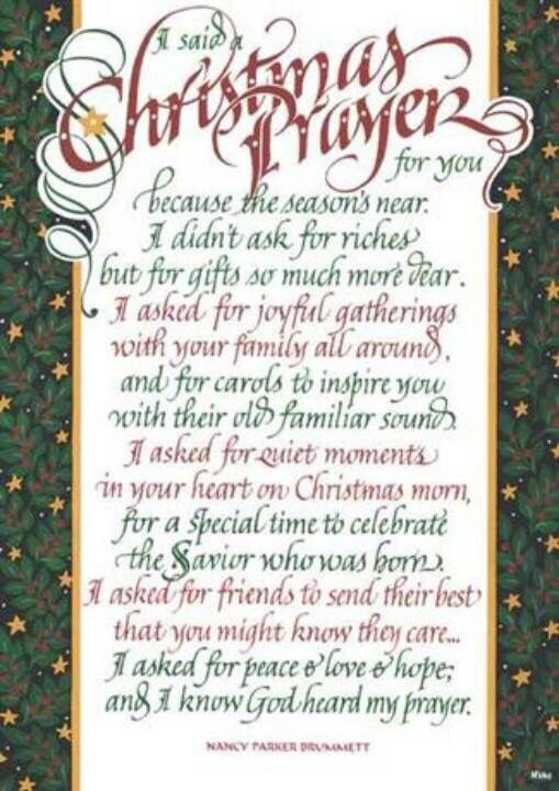 Christmas Dinner Prayer  2424 best Christmas is ing images on Pinterest