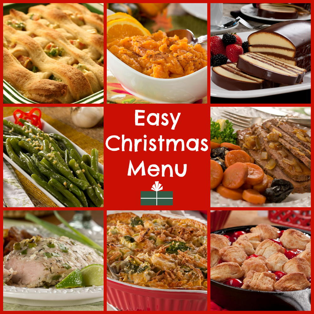 Christmas Dinner Recipes  World s Easiest Christmas Dinner Menu