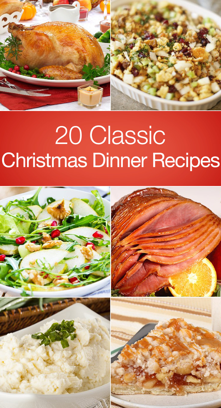 Christmas Dinner Recipes  Impress you guests this year with a classic Christmas