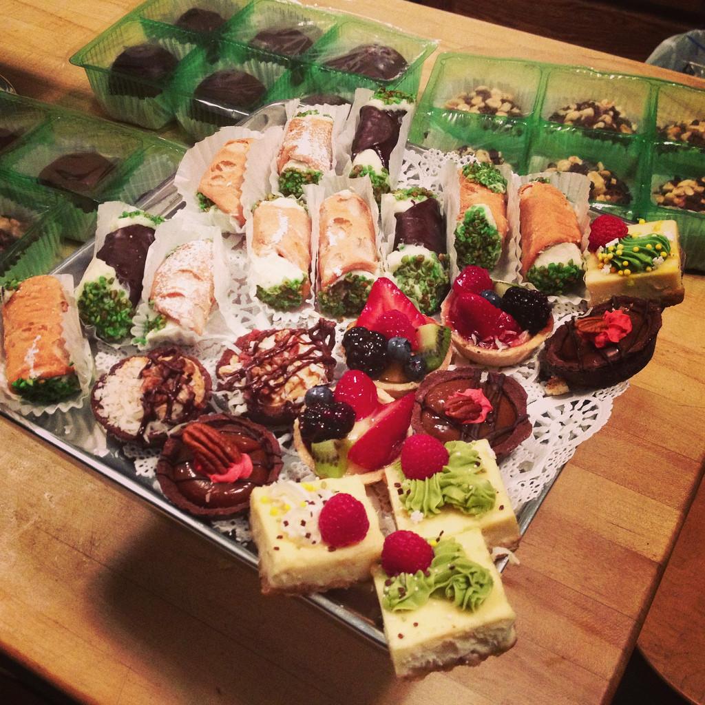 Christmas Eve Desserts  Christmas Eve Desserts Courtney Mowry