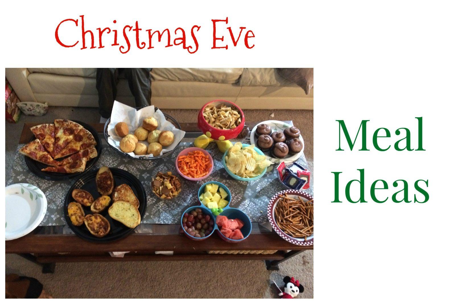 Christmas Eve Dinner Ideas  Christmas Eve Meal Ideas • Always Moving Mommy