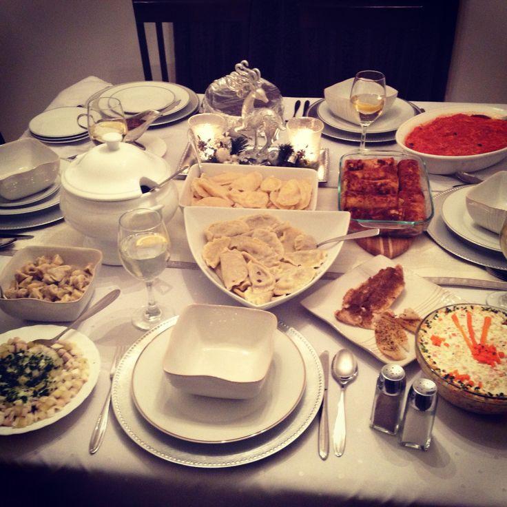 Christmas Eve Dinner Ideas  21 best images about wigilia dinner on Pinterest