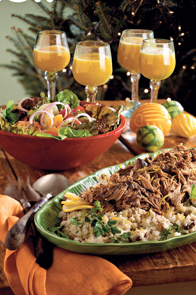 Christmas Eve Dinner Ideas  Christmas Dinner Menus Perfect for Your Party Southern