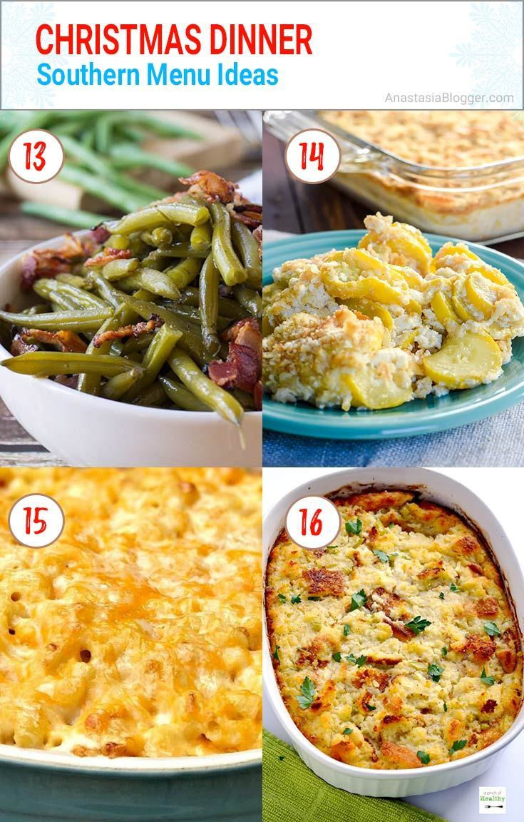 Christmas Side Dishes For A Crowd  Best 25 Christmas Dinner Ideas Traditional Italian