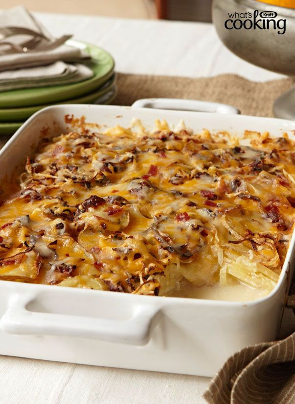 Christmas Side Dishes For A Crowd  Crowd Pleasing Scalloped Potatoes recipes
