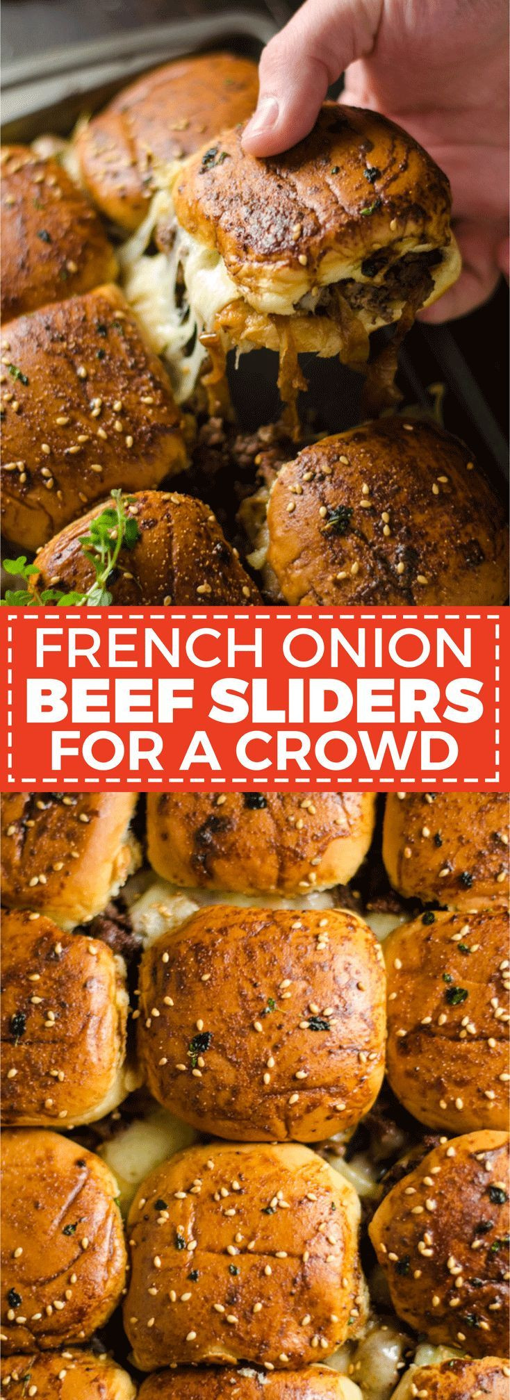 Christmas Side Dishes For A Crowd  Best 25 Mini sandwich appetizers ideas on Pinterest