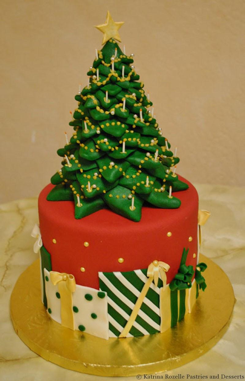 Christmas Tree Cakes  Christmas Tree Cake Designs – Happy Holidays