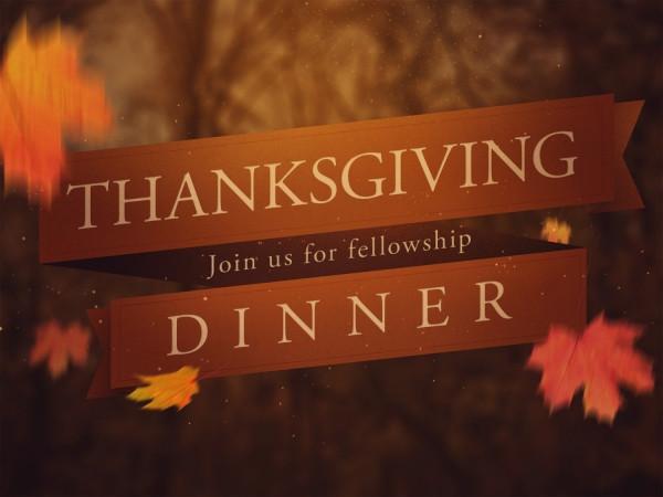 Church Thanksgiving Dinner  Events