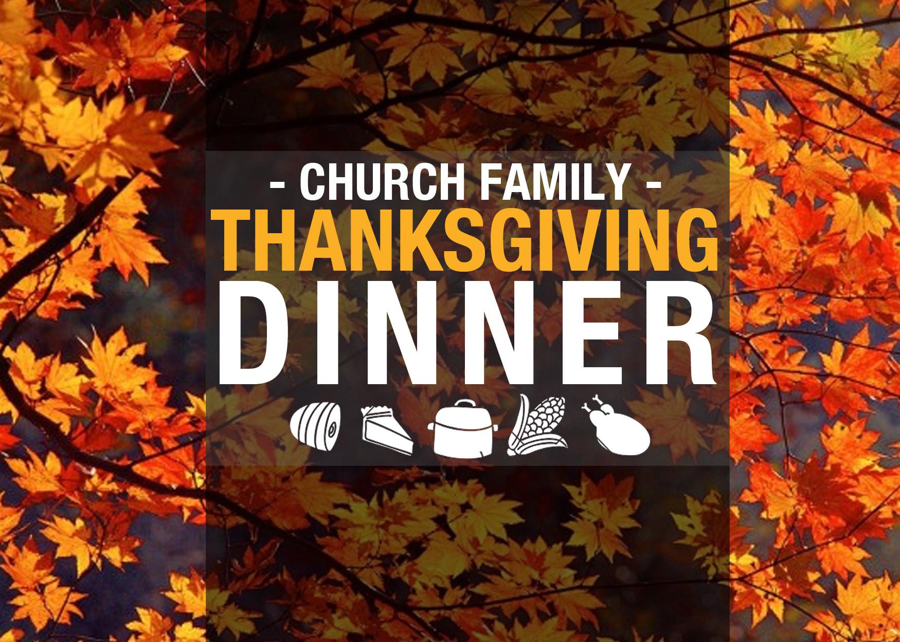 Church Thanksgiving Dinner  Thanksgiving Dinner – First Baptist Church – Elyria OH