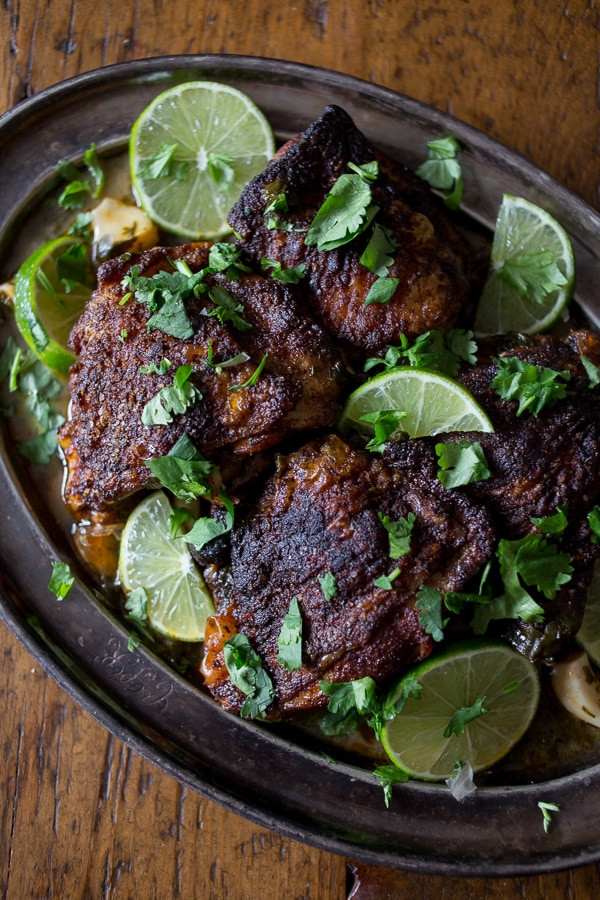 Cilantro Lime Chicken Thighs  Cilantro Lime Chicken Thighs