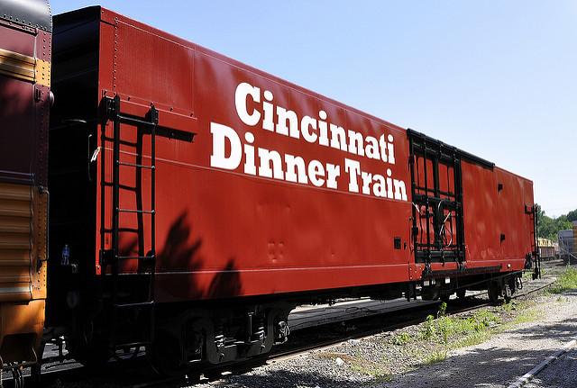 Cincinnati Dinner Train  Cincinnati Dinner Train Boxcar Norwood Ohio