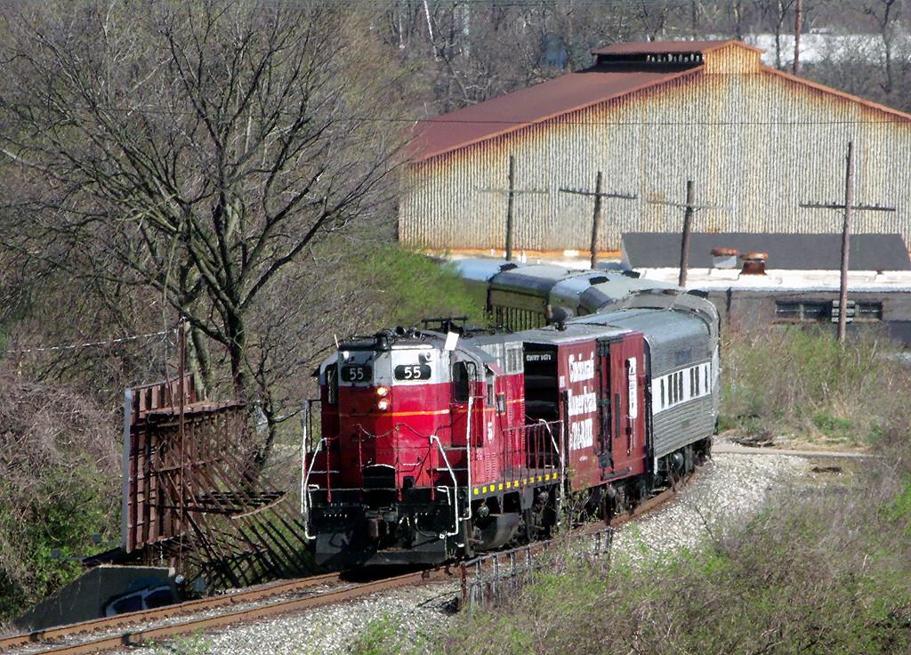 Cincinnati Dinner Train  The Cincinnati Dinner Train The Ohio Railroader