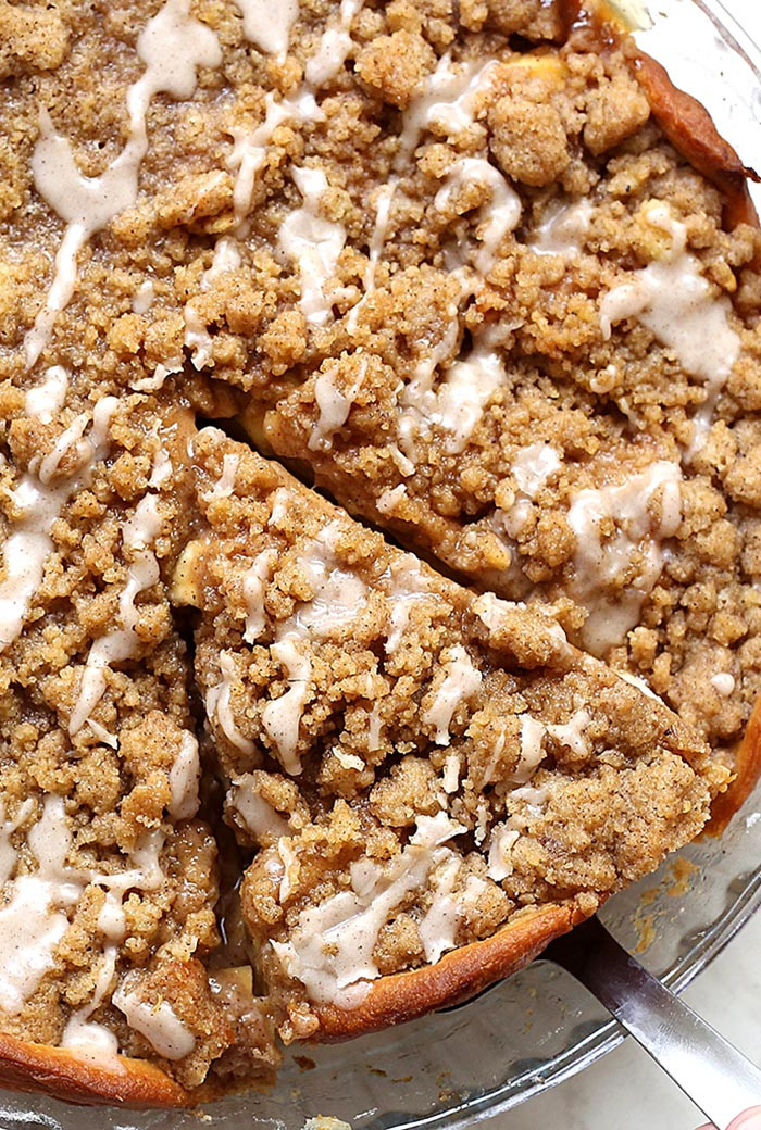 Cinnamon Apple Pie  Cinnamon Roll Apple Pie Cakescottage