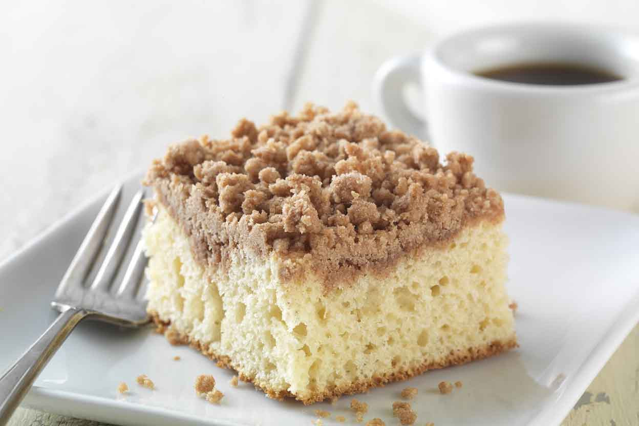 Cinnamon Coffee Cake Recipe  Gluten Free Cinnamon Streusel Coffeecake made with baking