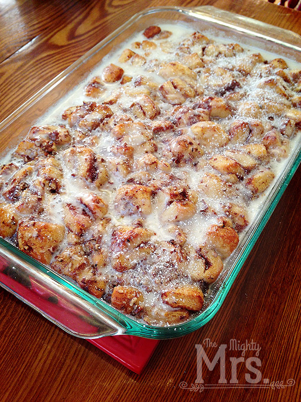 Cinnamon French Toast Casserole  New Cinnamon Baked French Toast Mighty Mrs