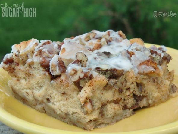 Cinnamon French Toast Casserole  Cinnamon French Toast Bake from Pillsbury — Oh My Sugar High