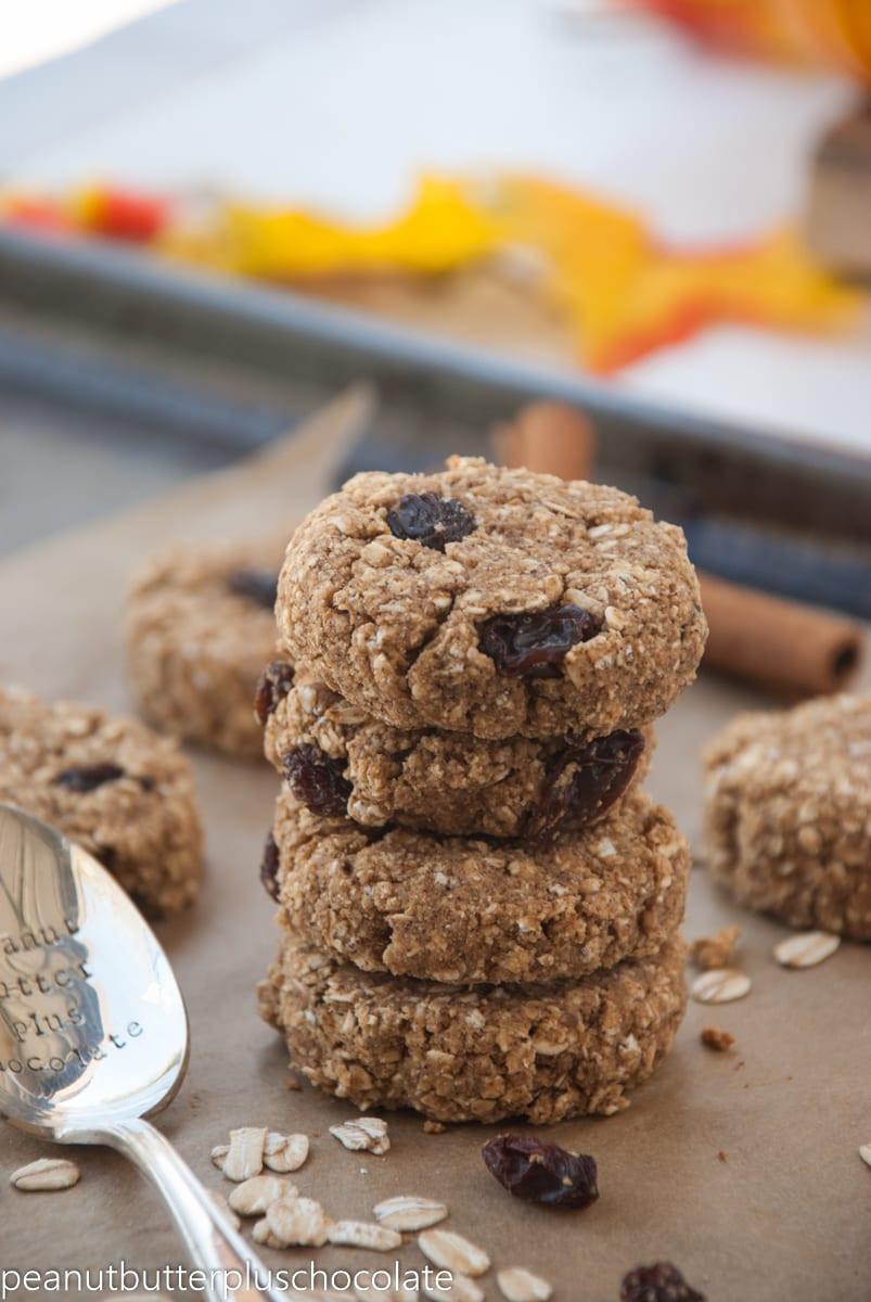 Cinnamon Oatmeal Cookies  Cinnamon Raisin Oatmeal Cookies — Peanut Butter Plus Chocolate