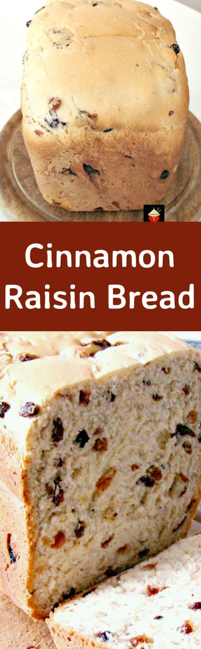 Cinnamon Raisin Bread Machine Recipe  Cinnamon Raisin Bread A nice easy bread to make using
