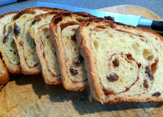Cinnamon Raisin Bread Machine Recipe  Worlds Best Cinnamon Raisin Bread Not Bread Machine