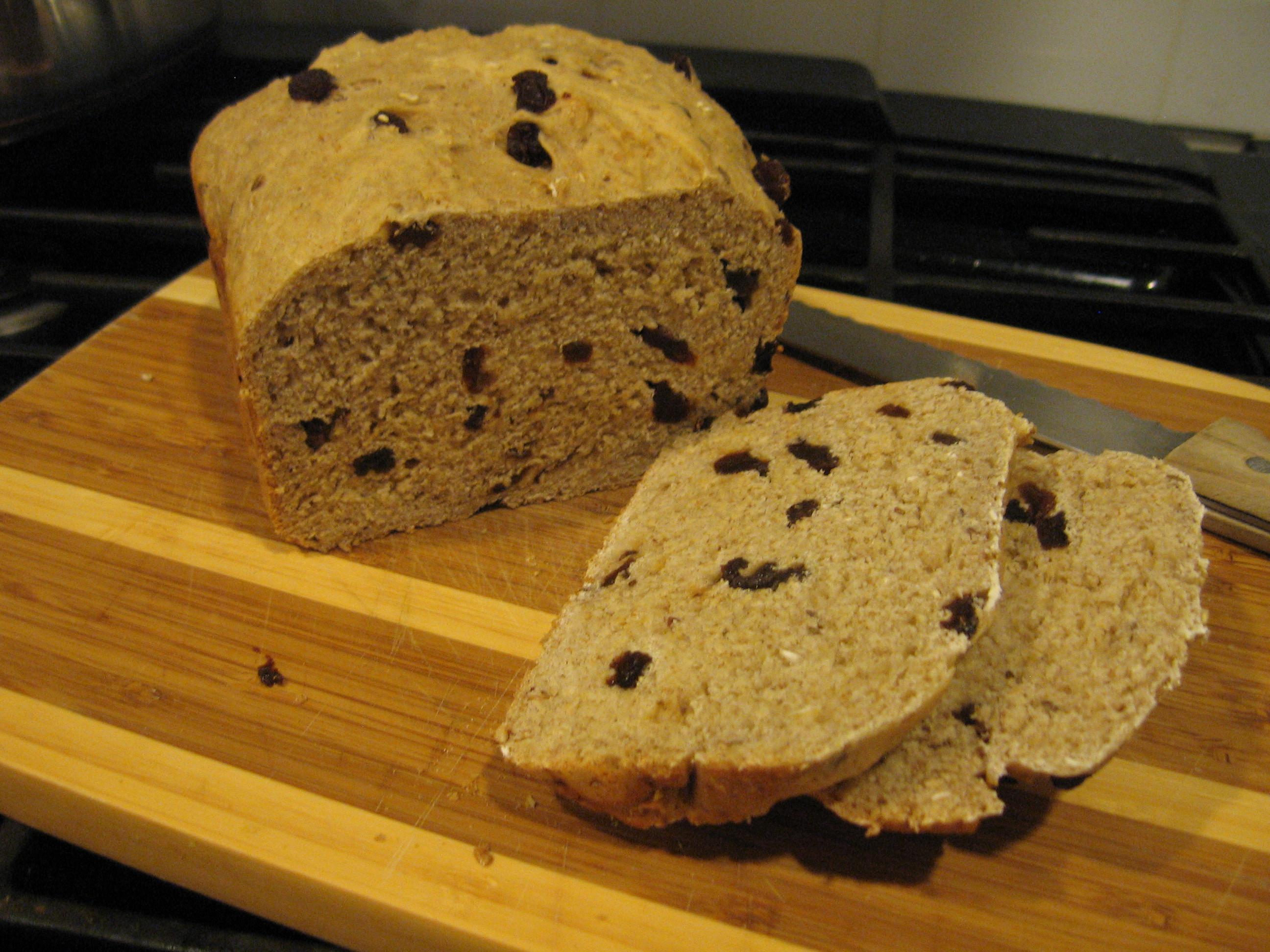 Cinnamon Raisin Bread Machine Recipe  Raisin Cinnamon Oatmeal Bread in the Bread Machine Our