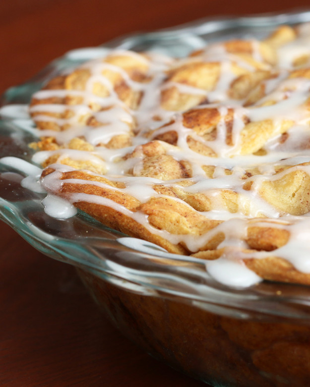 Cinnamon Roll Apple Pie  You ve Been Making Apple Pie Wrong This Entire Time
